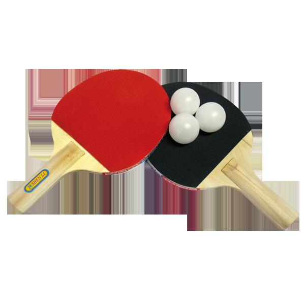 Set 2 paletas de ping pong 3 pelotas tiendita as me - Bolas de pin pon ...