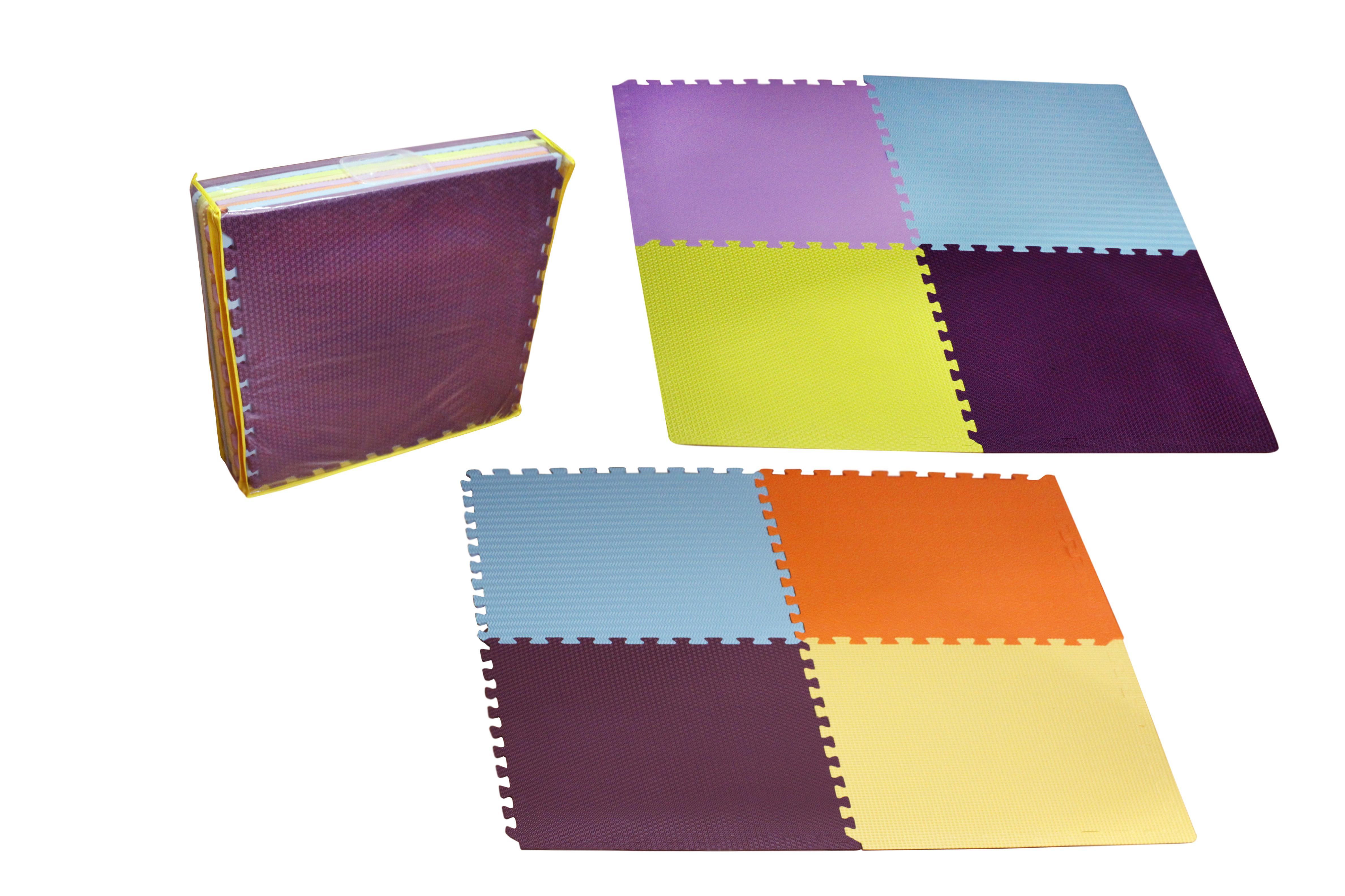 Alfombra de goma de eva 64 x 64 cm 8 piezas tiendita for Precio de las alfombras persas