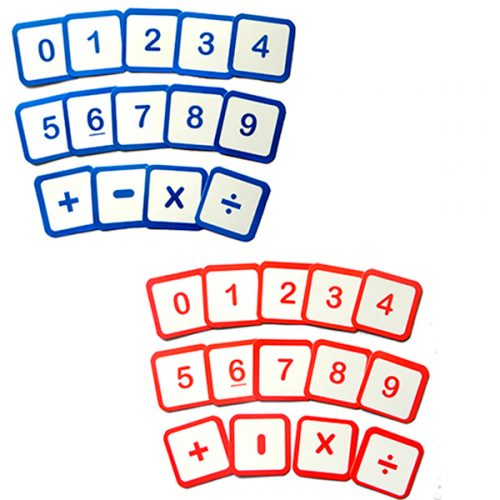 SET 88 NUMEROS MOVILES Y SIGNOS MATEMÁTICOS