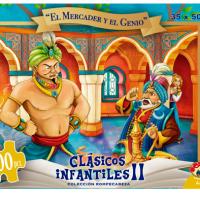 PUZZLE 100 PCS EL MERCADER Y EL GENIO