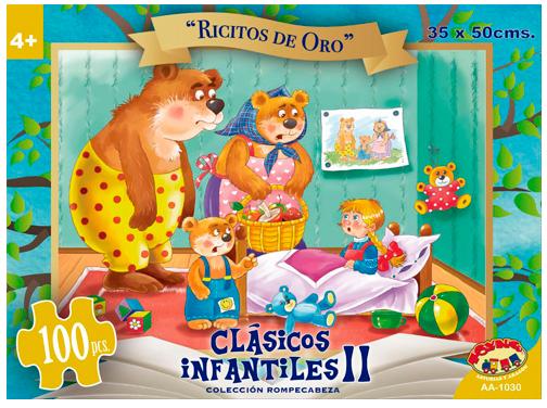 PUZZLE 100 PCS RICITOS DE ORO
