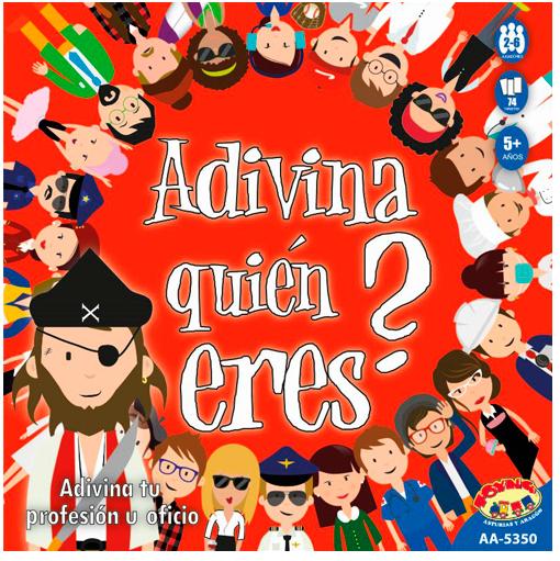 ADIVINA QUIEN ERES JUEGO DE MESA