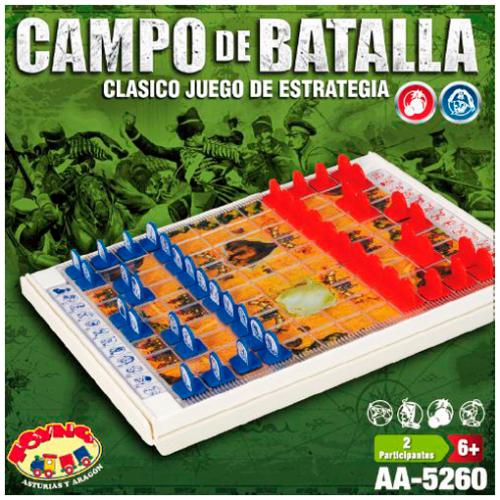 JUEGO DE MESA CAMPO DE BATALLA