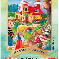 PUZZLE 48 PIEZAS HANSEL Y GRETEL