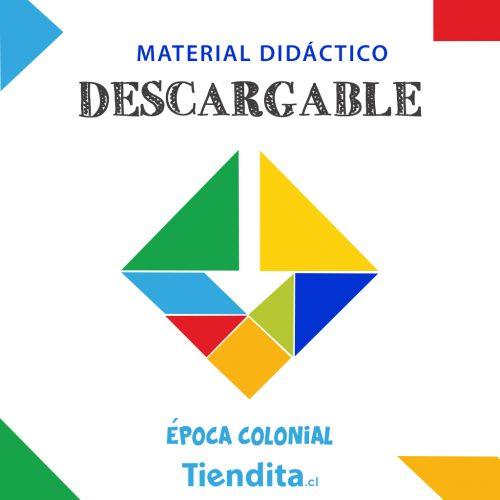 Material Descargable Tiendita: Época Colonial