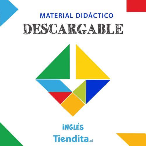 Material Descargable Tiendita: Actividades de Inglés